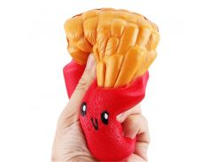 Squishy Toys Jumbo French Fries Elastic PU Stress Relief AntiStress Squeeze Toys Scented Poke it Squish it Rub it Gift