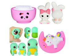 Squishy Soft Rice Bear Moon Horse Rabbit Animals Antistress Decompression Sticky Eliminate Fun Stress Squishies Squeeze Toys