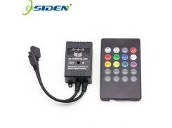 OSIDEN RGB controller strip light Music IR 20 Keys IR Remote Controller for 3528 5050 RGB LED Strip lights Mini Controller