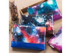 Original large capacity Sky star galaxy series pencil bags,zipper pen case/pencil pouch school storage bag stationery supplies
