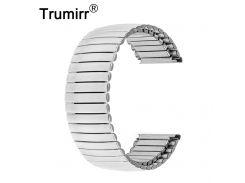 22mm Elastic Watch Band Stainless Steel Strap Bracelet for Moto 360 2 46mm LG G Watch W100 W110 Urbane W150 ASUS Zenwatch 1 2