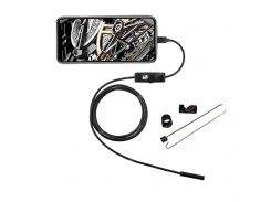 1M 1.5M 2M Snake Wire 5.5mm Lens Endoscope Camera Waterproof USB PC/Android Borescopes Camera For Pipe Car Repair Home Use