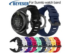 New silicone watch strap For Suunto Core replace watch band For Suunto Core wristband watch belt Watchband watch accessories