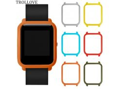 Slim Colorful Frame PC Case Cover Protect Shell For Xiaomi Huami Amazfit Bip Younth Watch Hard Plastic Protective Bumper Case