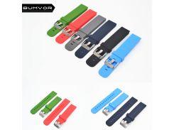 Quick Install Watch Strap 18mm/20mm/22mm for Motorola Moto 360 2 Gen 46mm Samsung Gear2  Silicone Rubber Band Bracelet