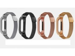 2018 Milanese loop Stainless Wrist Strap For Xiaomi Mi Band 2 3 Miband 3 2 Wrist bands Bracelet Wrist Straps Metal Belt