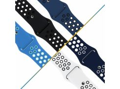Sport Smart Watch Band for Apple Watch Nike+ Series 4 40mm 44mm Soft Silicone Strap for iWatch 3/2/1 38mm 42mm Wrist bracelet