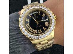 2018 New Luxury Brand mens watches Golden role styles Sports Watches big diamonds Dial week quartz Men Watch Relogio Masculino