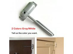 1 set Mini Auto Door Closer Closing Adjustable Mini Gate Screen Surface Fire Rated Spring Door Closers