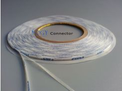 4mm*50M, White Double Sided Adhesive Ribbon Tape for Phone Screen, Display, Panel