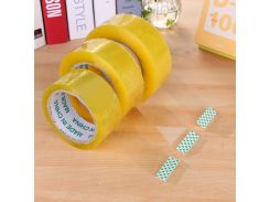 Useful 1 Roll Transparent Tape Sealing Sticky Tape for Carton sealing plastic fixed Home Office Packing Supplies