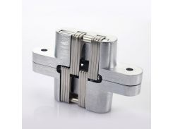 Concealed Hide Hinges 3-9# 180, for Variable Overlay Kitchen Cabinet Doors Satin Nickel Finish Stainless Steel 1 PCS