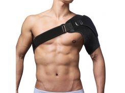 Aptoco Shoulder Bandage Protector Brace Joint Pain Injury Shoulder Support Strap Training Sports Equipment Adjustable Left/Right
