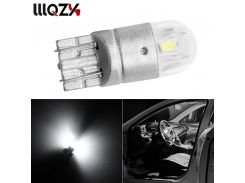 1Pcs T10 LED Car Light SMD 3030 Marker Lamp W5W WY5W 192 501 Tail Side Bulb Wedge Parking Dome Light Canbus Auto Styling DC 12V