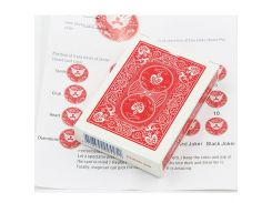 1pcs Marked Deck Magic Tricks Magia Playing Card Close Up Street Illusion Gimmick Props Mentalism Comedy