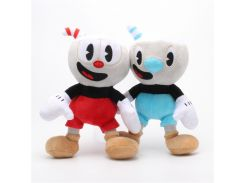 25CM Cuphead Plush Video Game Mugman Boss the Devil Legendary Chalice Soft Stuffed Dolls Toys For Kids Birthday Christmas Gifts