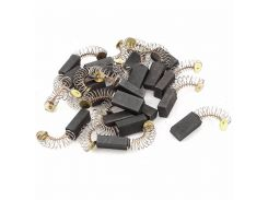 10 Pcs Mini Drill Electric Grinder Replacement Carbon Brushes Spare Parts For Electric Motors Dremel Rotary Tool 6.5x7.5x13.5mm