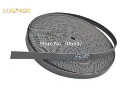 Free Shipping 10Meters HTD3M Timing Belt 3M-20 Width 20mm Pitch 3mm 3M 20 Rubber With Fiberglass Timing Belt Laser Engraving CNC