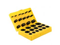 404 pcs Rubber O Ring Assortment Seal Plumbing Garage Kit with Case for Workshops and Garages Washer Seals