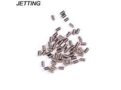 JETTING 50Pcs/lot DIN914 M3 M4 M5 304 Stainless Steel Grub Screws Cone Point Hexagon Hex Socket Set Screws Wholesale