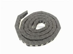 """5pcs/Lot 7x7mm R18 Cable Drag Chain Wire Carrier with End Connector 7mm x 7mm L1000mm 40"""" for 3D CNC Router Machine"""