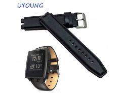 High Quality Genuine Leather Watchband 22mm For Pebble Steel 2  Men Fashion Smart Watch Bracelet