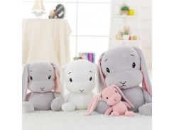 lucky boy cute rabbit super soft plush baby toy  stuffed animal toy long ears bunny sleeping dolls for kids christmas gifts