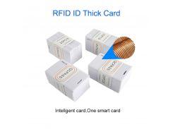 Eseye 100pcs RFID Card 1.8mm EM4100 Access Control Card 125khz Keyfob RFID Tag Tags Sticker TK4100 Token Ring Key Proximity Card