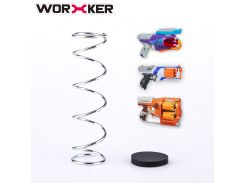 Worker 6KG Modification Upgraded Spring Kit for Nerf FlipFury/Strongarm/Rebelle Spylight Toy  Accessories- Silver