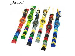 [New] 1pcs Super Heroes Figures Building Blocks Bricks Watch Compatible with Legoingly NinjagoINGlys Toys For Children Gift