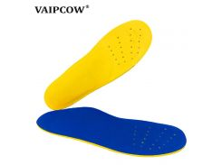Original VAIPCOW EVA Orthopedic insoles designed for O leg and flatfoot, arch support ,breathable  insoles for shoes for women