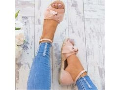 Womens Sandals Plus Size 35-43 Flats Sandals For  Summer Shoes Woman Peep Bow Casual Shoes Sandalias Mujer For Women