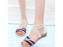 Summer Women Sandals New Vintage Gladiator Platform Shoes Bohemia Sandal Woman Beach Flip Flops Shoes PA891387