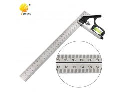 "Angle Square Measuring Tools Set Precise Stainless Steel Aluminium Durable Adjustable Combination Spirit Level 12"" 300mm"