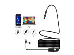 All New Type-C Endoscope USB Borescopes Waterproof Led Light Pipe Endoscope Inspection Camera For Car Repair Home Use