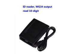 RFID reader, USB  reader, EM/ID card reader,Read 10-digit,WG34 output, usb assign device,sn:09C-EM-34,min:20pcs