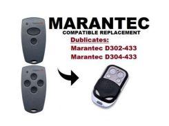 5pcs Marantec D302, D304 433Mhz compatible Remote Control Duplicator high quality free shipping