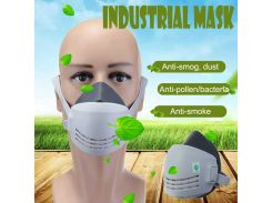 Dust Mask Respirator Anti-dust Anti Industrial Construction Pollen Haze Paint Gas Mask Family & Professional Site Protection