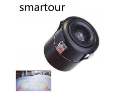 Smartour Car reversing camera universal HD night vision waterproof punching parking assist  ccd rear view reversing image