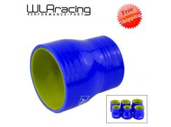 "BLUE & Yellow 2""-2.5'' 2''-3'' 2.48''-2.75'' 2.48-3'' 2.75''-3'' 3''-4'' SILICONE HOSE STRAIGHT REDUCER JOINER COUPLING"