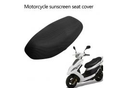 Dewtreetali Motorcycle Sunscreen Seat Cover Prevent Bask in Seat Scooter Sun Pad Waterproof Heat Insulation Cushion protect