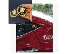 3D Car Sticker Individual Metal Transformers VIP  For Car Auto logo Window Tail Car Body Decoration Car Styling