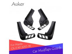 Auker Car Mudflaps Splash Guards Front Rear Mudguards Fender Accessories For Mazda CX-5 CX5 2017 2018 KF 2th Car Styling