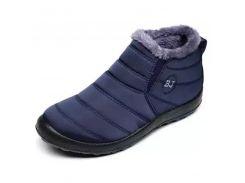 Men Boots Winter Shoes Solid Color Work Shoes Snow Boots Men Shoes Plush Inside Antiskid Bottom Keep Warm Waterproof Ski Boots