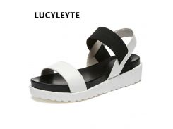2018 New shoes Summer sandals women peep-toe sandalias flat Shoes Roman sandals shoes woman mujer Ladies Flip Flops Footwear