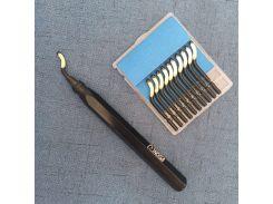 Plastic/aluminum/copper burr processing tools high quality  RB1000 + 10 PCS BS1010/BS1012/BS1018/BK3010blade hand deburring tool