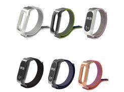 Mi band 2 Nylon Loop Strap For Xiaomi Mi Band 2 Wrist Band Strap For Miband Mi Band 2 Bracelet sport loop