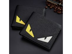 New Trend  PU Leather Mens Clutch Wallets Creative Cartoon Pattern Card Holder Small Money Purses Slim Wallet for Men
