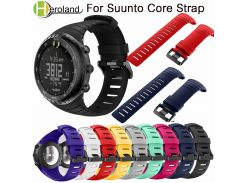 Bracelet outdoors Sports Silicone watch strap For Suunto Core watchBand Smart watch Replacement TPU Strap Wristband Accessories