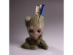Pen Holder Guardians of The Galaxy Flowerpot Baby Action Figures Cute Model Toy Pot Best Christmas Gifts For Kids Hot Home Decor